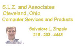 SLZ and Associates - Cleveland Ohio - Salvatore Zingale - 216-233-4443